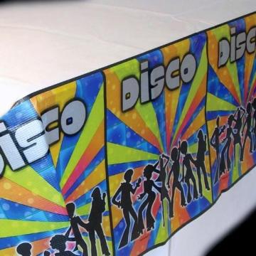 """Tischtuch: Tischdecke, Papier, """"Disco-Dancer"""", 137 x 259 cm - 1"""
