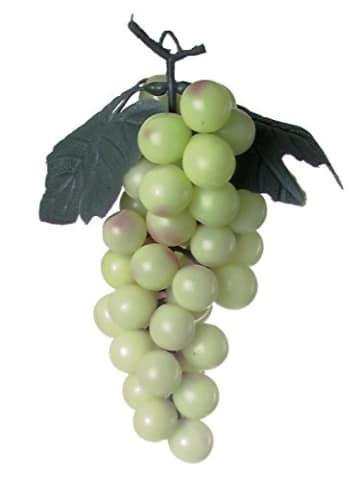 Trauben mit Blättern, grün 1 Stück - 1