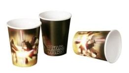 Trinkbecher: Pappbecher, Star Wars, 250 ml, 8er-Pack - 1