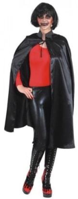 Umhang: Umhang mit Stehkragen, schwarz, 110 cm - 1