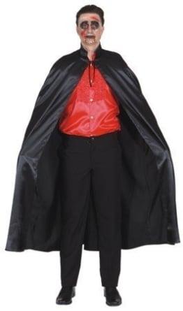 Umhang: Umhang mit Stehkragen, schwarz, 140 cm - 1