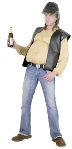 Verkleidung: Bierbauch für Trinker-Kostüme - 1