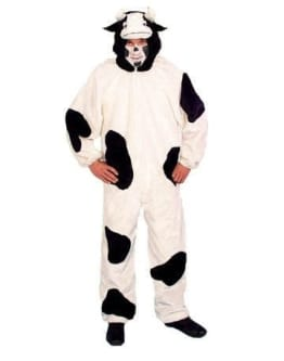 Verkleidung: Kuh-Overall, Größe 54/56 - 1