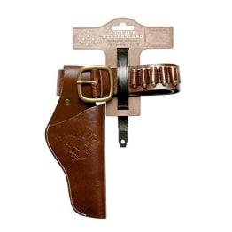 Waffengürtel: Cowboygürtel, 2 Taschen, Kindergröße, 105 cm - 1