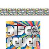 "Wanddekoration: Banner-Bordüre, ""Disco Fever"", 45 cm x 12 m - 1"