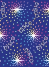 "Wandtattoo: Scene-Setter, ""Disco Lights"", ca. 1,20 x 12,20 m - 1"