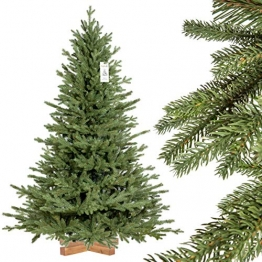 Weihnachtsbaum bayrische Tanne Premium Qualität, grün oder weiß 1