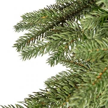 Weihnachtsbaum bayrische Tanne Premium Qualität, grün oder weiß 2