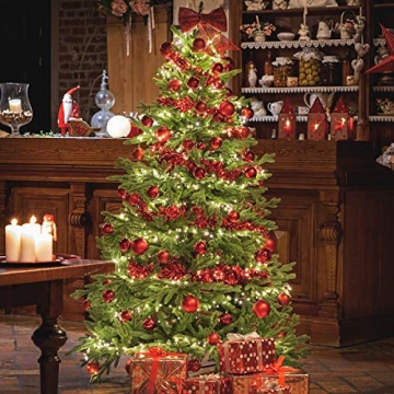 Weihnachtsbaum bayrische Tanne Premium Qualität, grün oder weiß 4