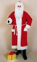 Weihnachtsmannkostüm: Mantel mit Kapuze - 1