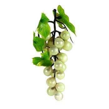 Weintrauben grün, 42-fach, 15cm, Kunststoff - 1