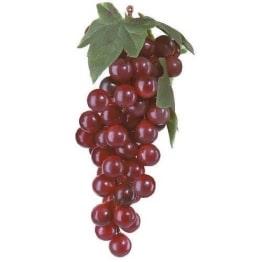 Weintrauben rot, 42-fach, 15cm, Kunststoff - 1