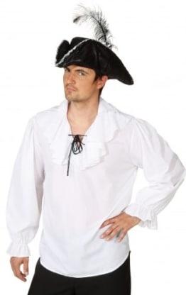 weiße Piratenbluse - 1