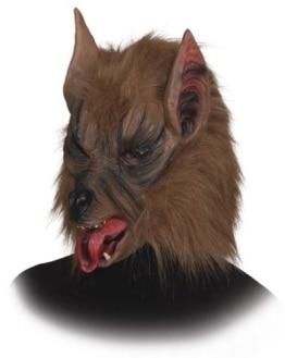 Werwolf-Maske braun - 1