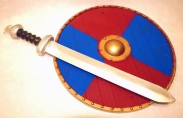Wikinger-Set: Schild und Schwert - 1