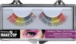 Wimpern-Set: zwei künstliche Wimpern mit Kosmetikkleber - 1