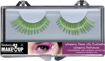 Wimpern-Set: zwei künstliche Wimpern mit Kosmetikkleber - 2