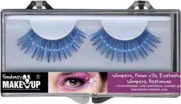 Wimpern-Set: zwei künstliche Wimpern mit Kosmetikkleber - 5