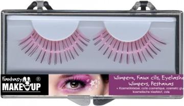 Wimpern-Set: zwei künstliche Wimpern mit Kosmetikkleber - 6