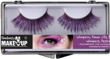Wimpern-Set: zwei künstliche Wimpern mit Kosmetikkleber - 7