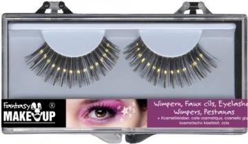 Wimpern-Set: zwei künstliche Wimpern mit Kosmetikkleber - 8