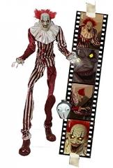 Zombie Clown 2 Meter Horror Clown Licht Sound 1