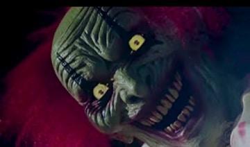 Zombie Clown 2 Meter Horror Clown Licht Sound 2